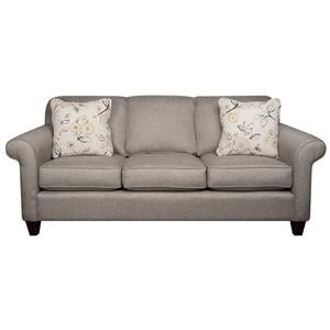 Morris Home Furnishings Sarah Sarah Revolution Fabric Sofa