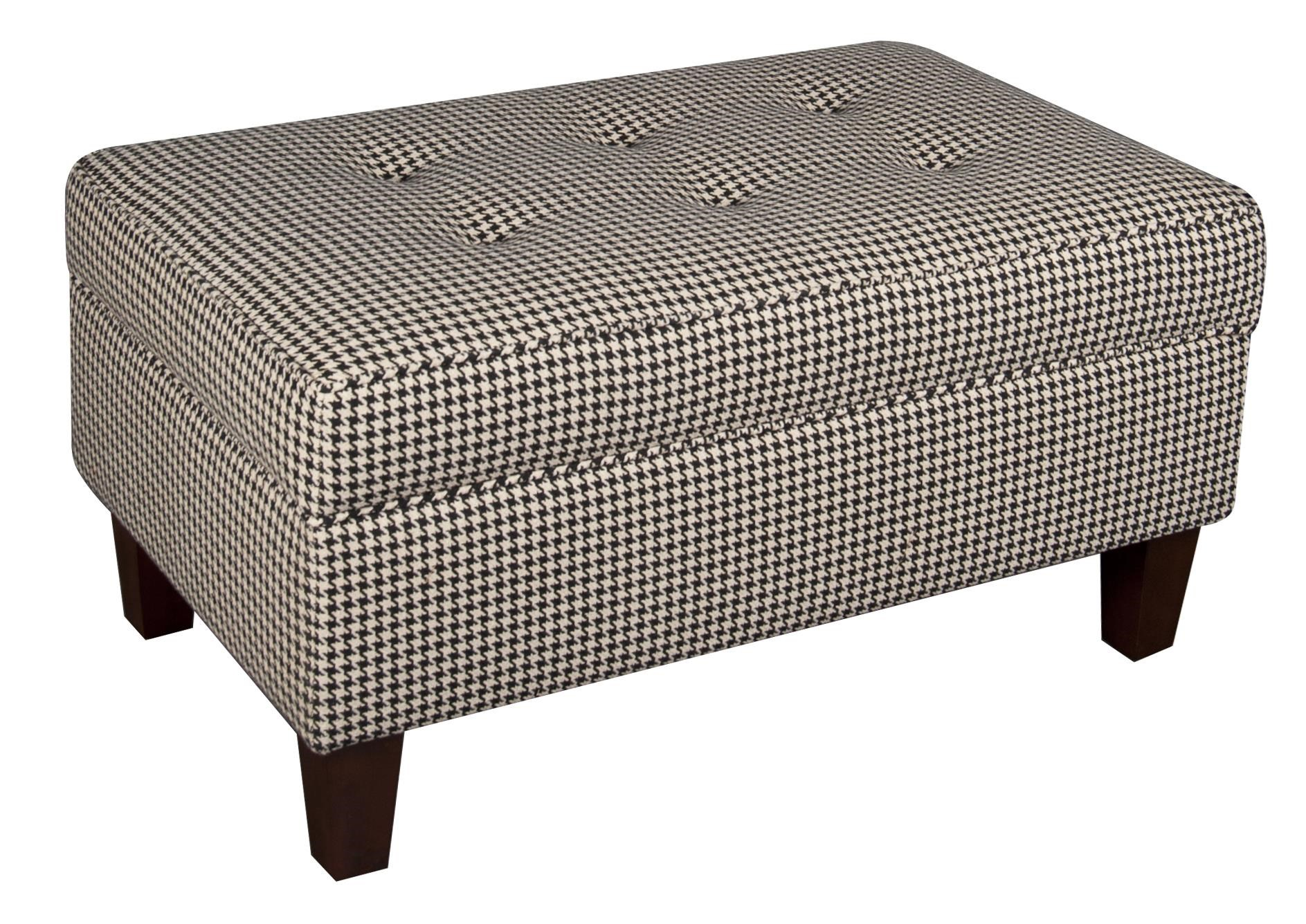 Morris Home Furnishings Sarah Sarah Storage Ottoman - Item Number: 621931867