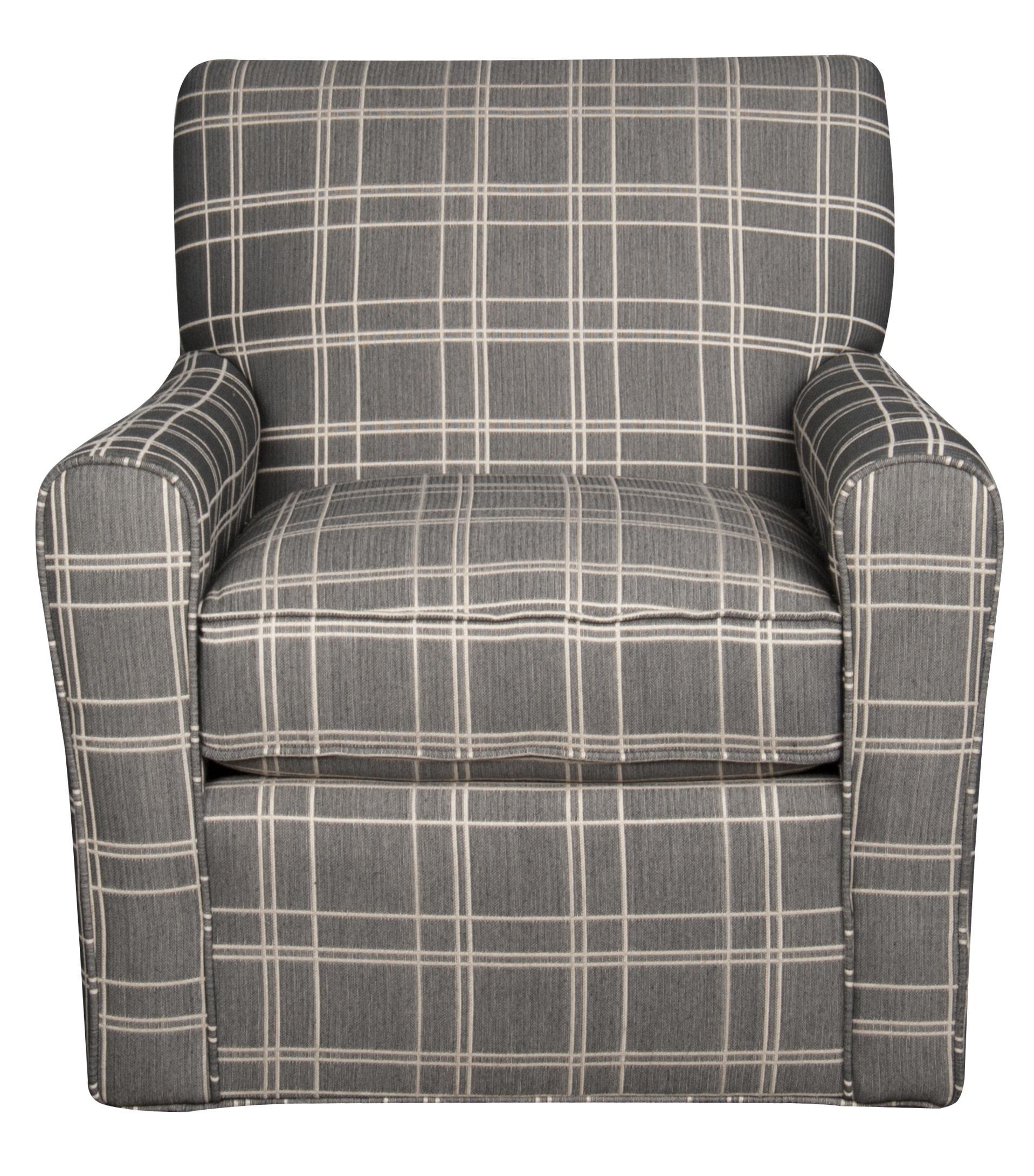 Sarah Sarah Swivel Chair by Craftmaster at Morris Home