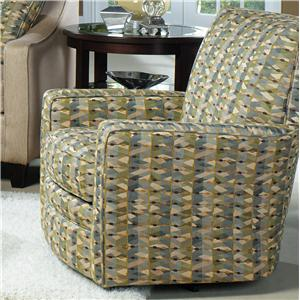Craftmaster Swivel Chairs Upholstered Swivel Glider