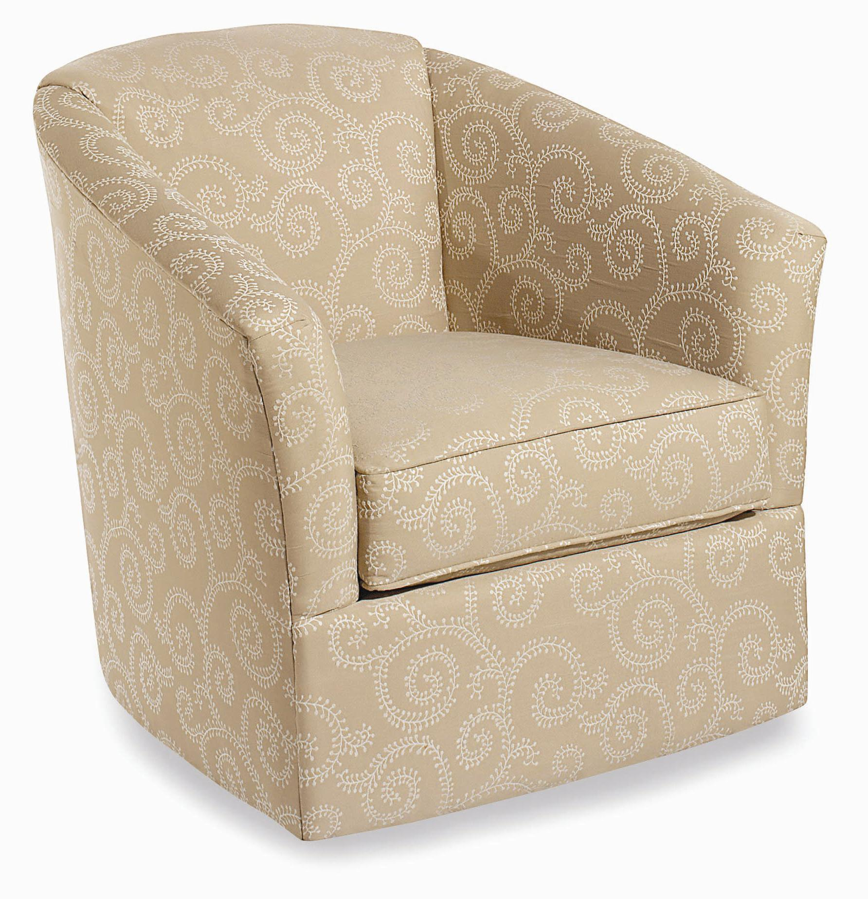 Craftmaster Swivel Chairs Upholstered Swivel Chair AHFA