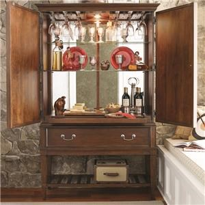 Morris Home Furnishings Upstate - Upstate Bar Cabinet