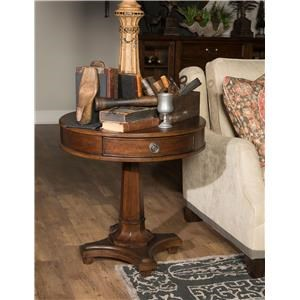 Morris Home Furnishings Upstate - Upstate Round Lamp Table