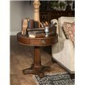 Morris Home Furnishings Upstate - Upstate Round Lamp Table - Item Number: 469424324