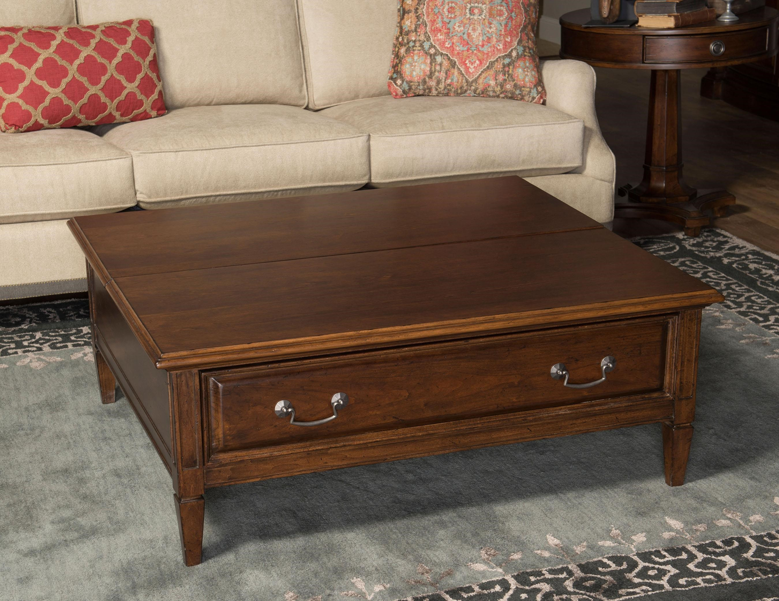 Morris Home Furnishings Upstate - Upstate Lift Top Cocktail Table - Item Number: 773737294