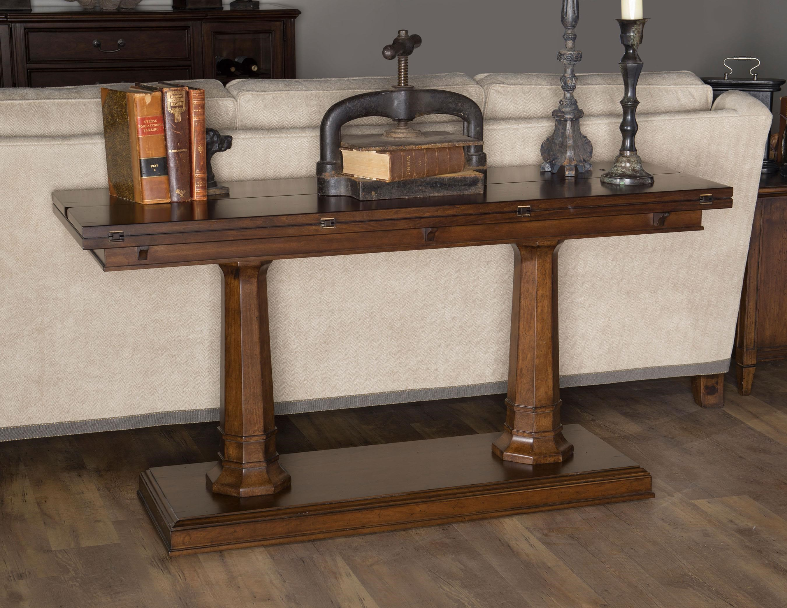 Morris Home Furnishings Upstate - Upstate Flip/Top Sofa Console - Item Number: 793062025