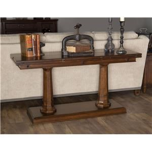 Morris Home Furnishings Upstate - Upstate Flip/Top Sofa Console
