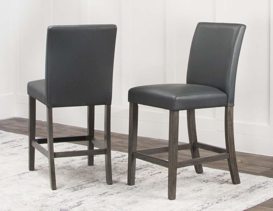 Cramco, Inc 25078 Charcoal Pub stool - Item Number: 25078charcoal