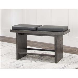 Cramco, Inc 25078 Pub bench / Charcoal