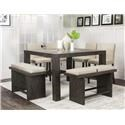 Cramco, Inc 25078 5 pc Pub Table Set - Item Number: 25078taupe