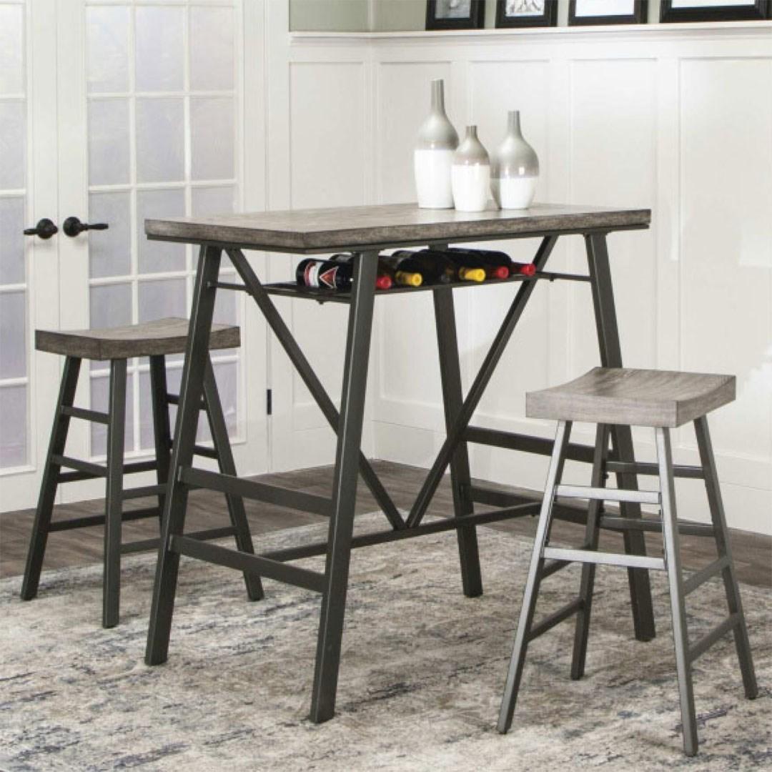 Pub Table and Barstool Set