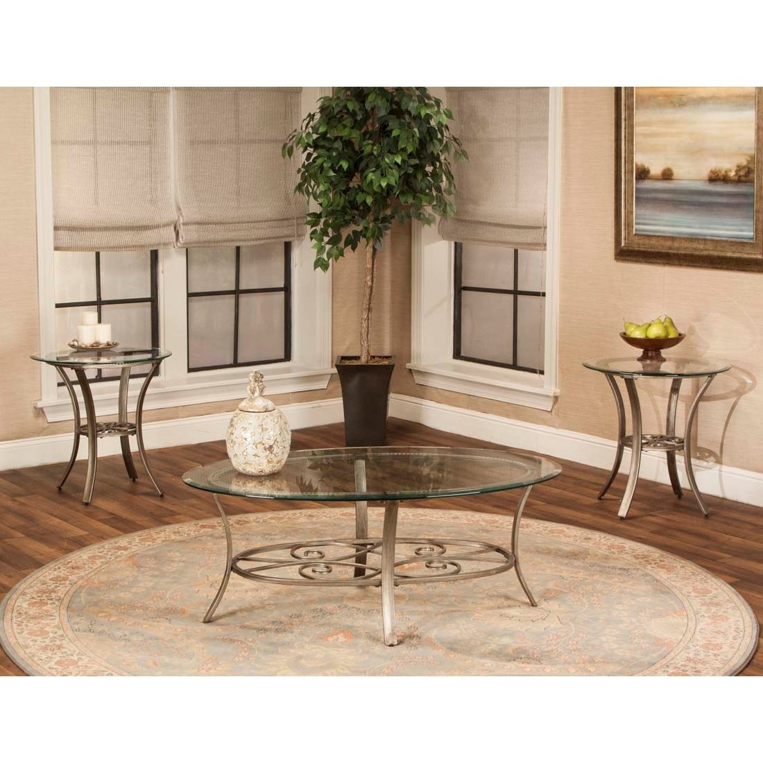 Asti Round Occasional Table 3-Pack by Cramco, Inc at Value City Furniture