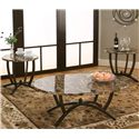 Cramco, Inc Atlas  3 Pack Occasional Tables - Item Number: 72019-90