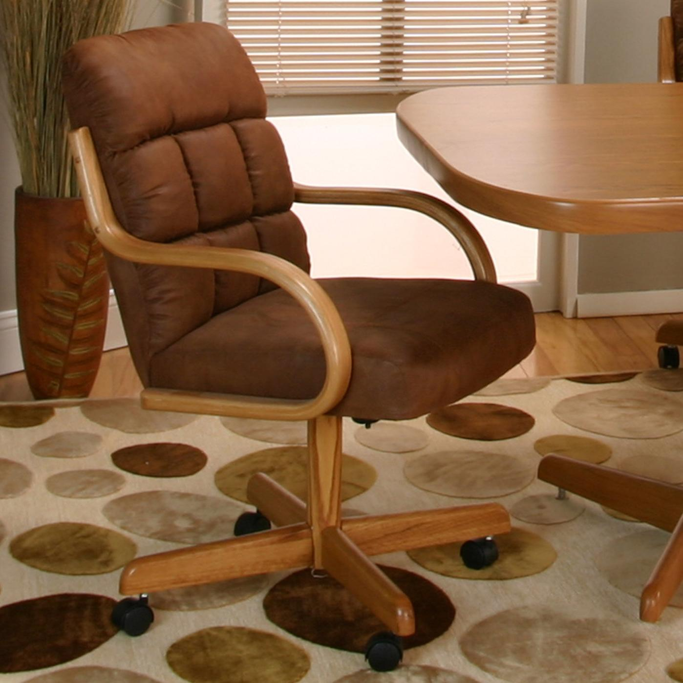 Cramco Motion - Atwood Cocoa Microsuede Chair by Cramco, Inc at Johnny Janosik