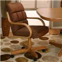 Cramco, Inc Cramco Motion - Atwood Cocoa Microsuede Chair - Item Number: D8030-02+08