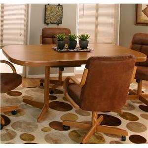 Sunset Oak Table