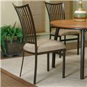 Cramco, Inc Cramco Dinettes - Bellevue Dining Side Chair - Item Number: D8044-01