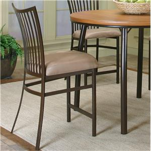 "Cramco, Inc Cramco Dinettes - Bellevue Fan Back 24"" Counter Stool"