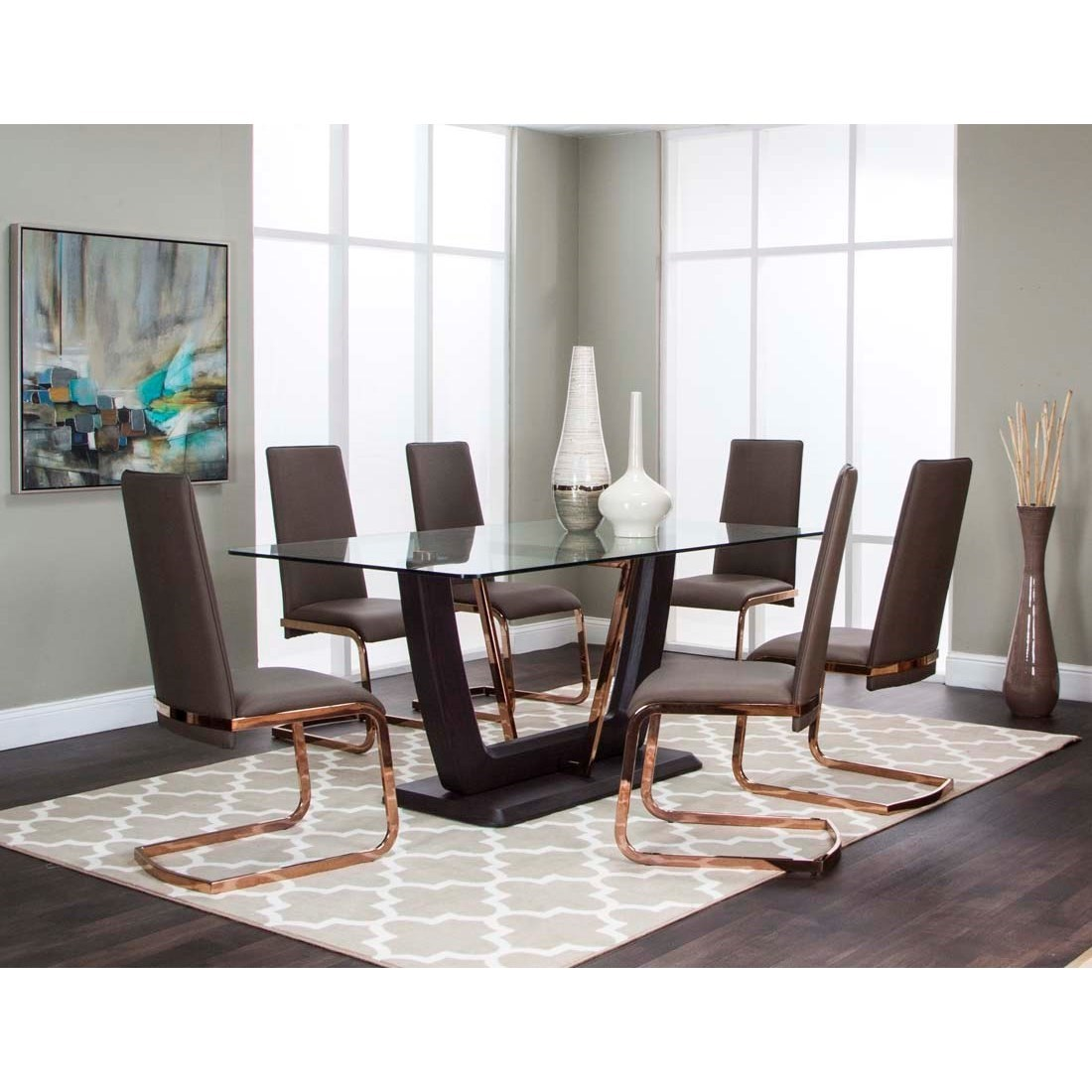 Cramco Inc Bentley 7 Piece Dining Set Value City Furniture Casual Dining Room Group
