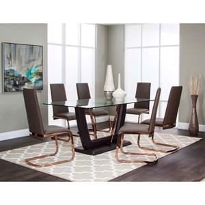 Cramco, Inc Bentley 7 Piece Dining Set