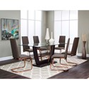 Cramco, Inc Bentley 7 Piece Dining Set - Item Number: G5009-47+45+41+6x01