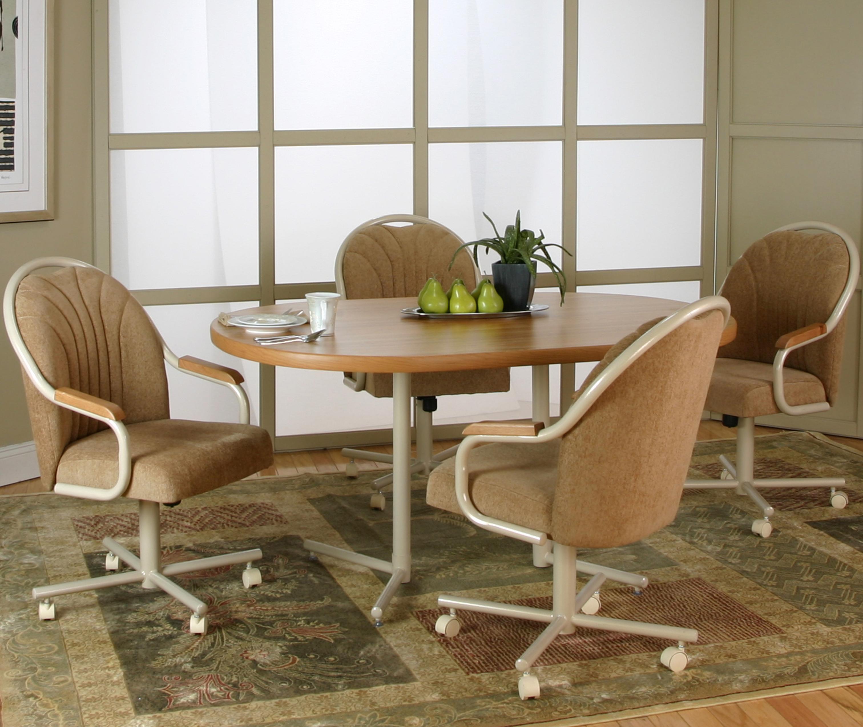 Cramco, Inc Blair 5 Piece Dining Set - Item Number: D8047-74+72+4x08+07