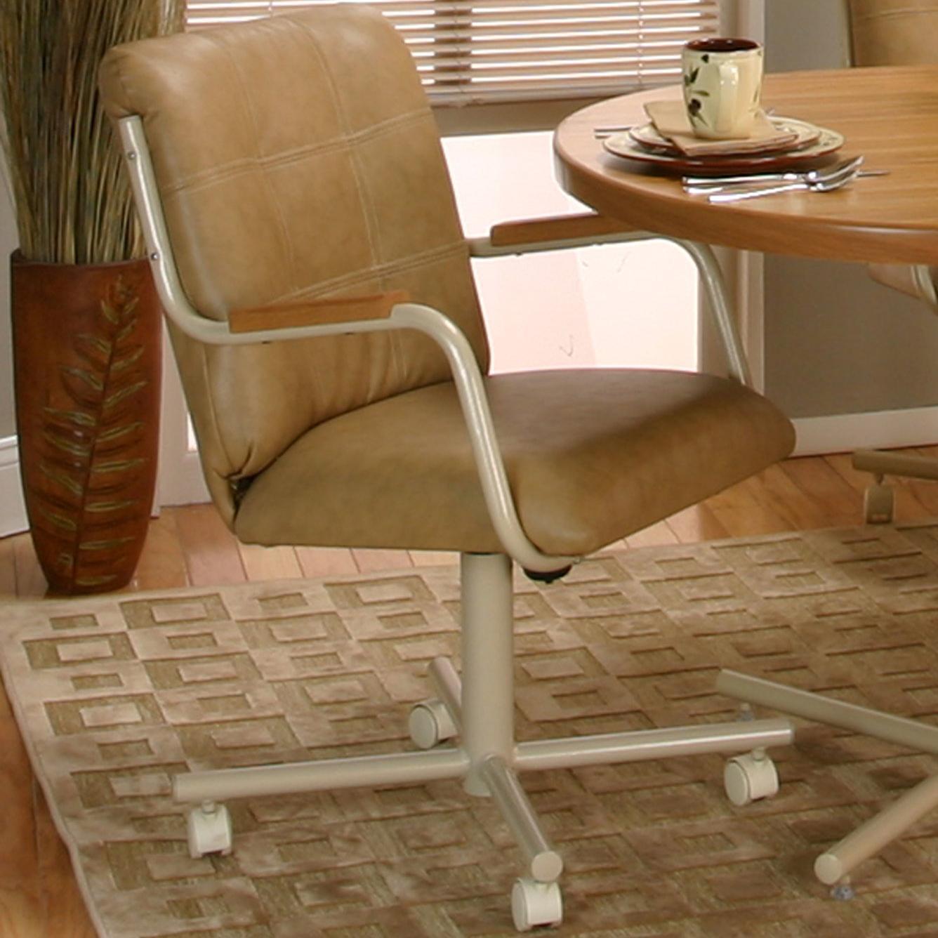 Mocha/Buff Chair