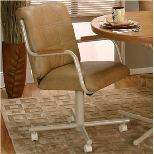 Cramco, Inc Cramco Motion - Carter  Mocha/Buff Chair