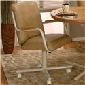 Cramco, Inc Cramco Motion - Carter  Mocha/Buff Chair - Item Number: D8066-07+08