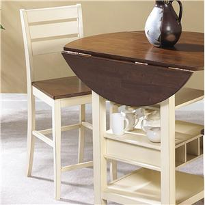 "Cramco, Inc Cascade 24"" Counter Stool  (RTA)"