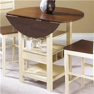 Cramco, Inc Torrent Drop Leaf Counter Height Table
