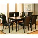 Cramco, Inc Chatham 7 Piece Dining Set - Item Number: 42072-56+6x01