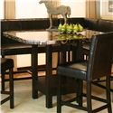 Cramco, Inc Chatham Square Clipped Corner Pub Table - Item Number: 42072-58