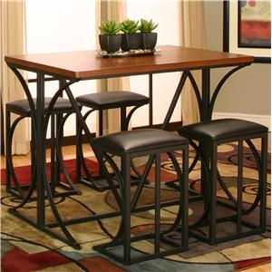 Cramco, Inc Conner 5 Piece Pub Set