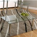 Cramco, Inc Contemporary Design - Napoli Cocktail Table - Item Number: F5476-92+91