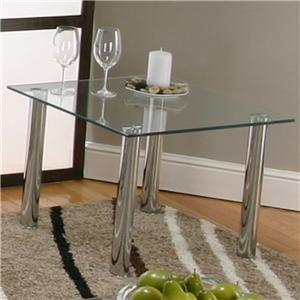 Cramco, Inc Contemporary Design - Napoli End Table