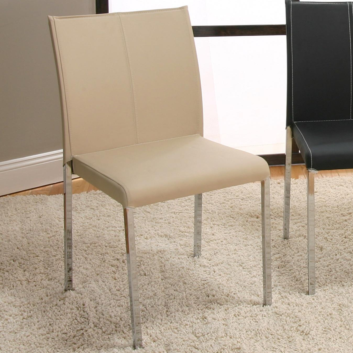 Cramco, Inc Contemporary Designs - Corona Chrome Stack Chair - Item Number: F5079-03
