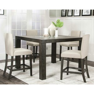 Cramco, Inc Cougar Table, Chair and Dining Bench Set