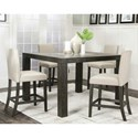 Cramco, Inc Cougar Table, Chair and Dining Bench Set - Item Number: 25078-69+4x25