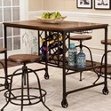 Cramco, Inc Craft Counter Table - Item Number: W3075-68