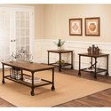 Cramco, Inc Craft 3 Pack Living Room Tables - Item Number: W3075-90