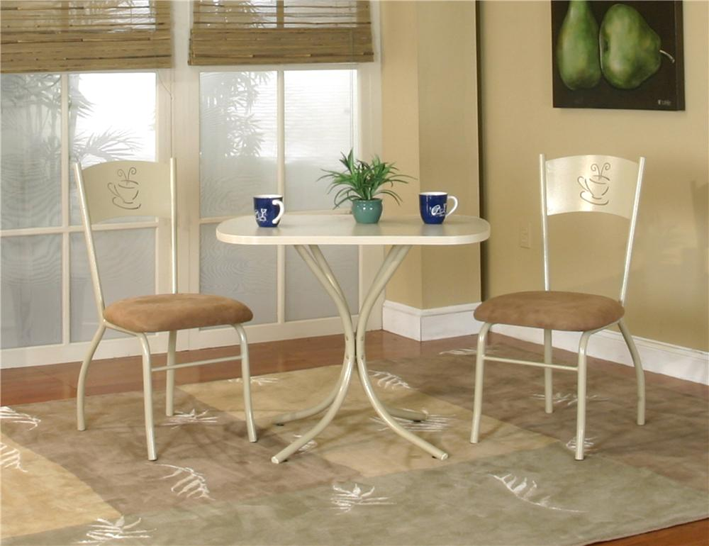 Laminate Table with Chairs