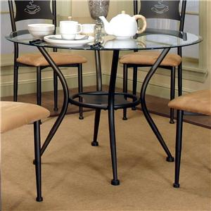 Cramco, Inc Cramco Trading Company - Maxwell Glass Top Dining Table