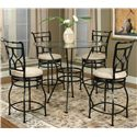 Cramco, Inc Cramco Trading Company - Starling 5 Piece Pub Set - Item Number: 72688-49+42+4x24