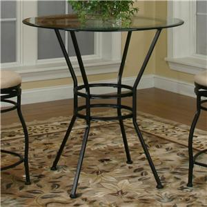 Cramco, Inc Cramco Trading Company - Starling Round Glass Pub Table