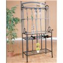 Cramco, Inc Marissa Molten Earth/Glass Baker's Rack - Item Number: 72095-85