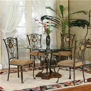 Cramco, Inc Design Line - Allegro 5 Piece Dining Set