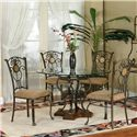 Cramco, Inc Design Line - Allegro 5 Piece Dining Set - Item Number: J3010-535