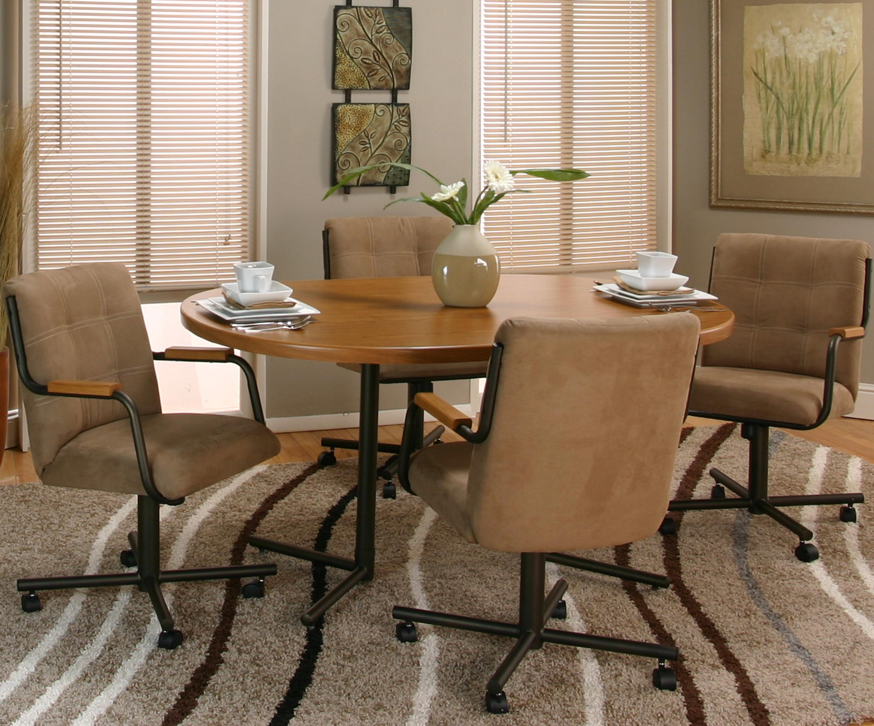 Cramco, Inc Cramco Motion - Dillon  Table and Chair Set - Item Number: D8109-71+74+4x08+4x07