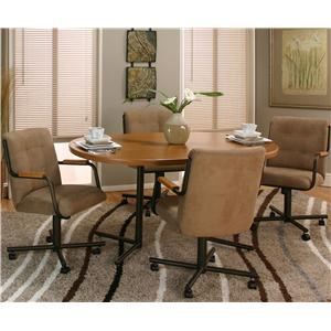 Cramco, Inc Cramco Motion - Dillon  Table and Chair Set